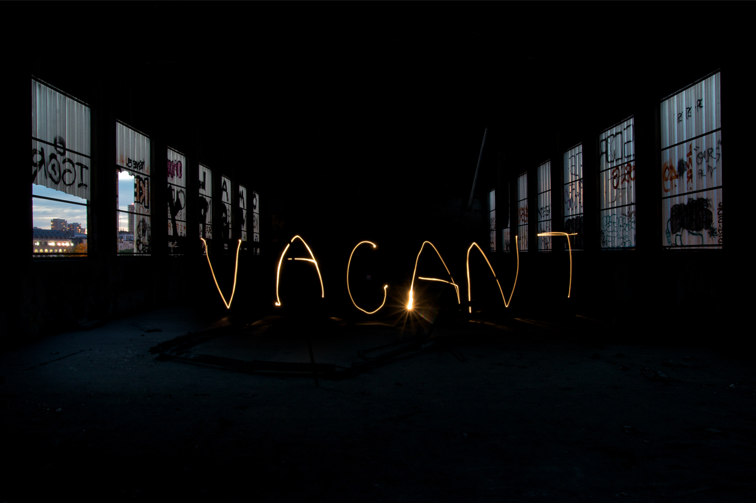 Light Painting – vacant