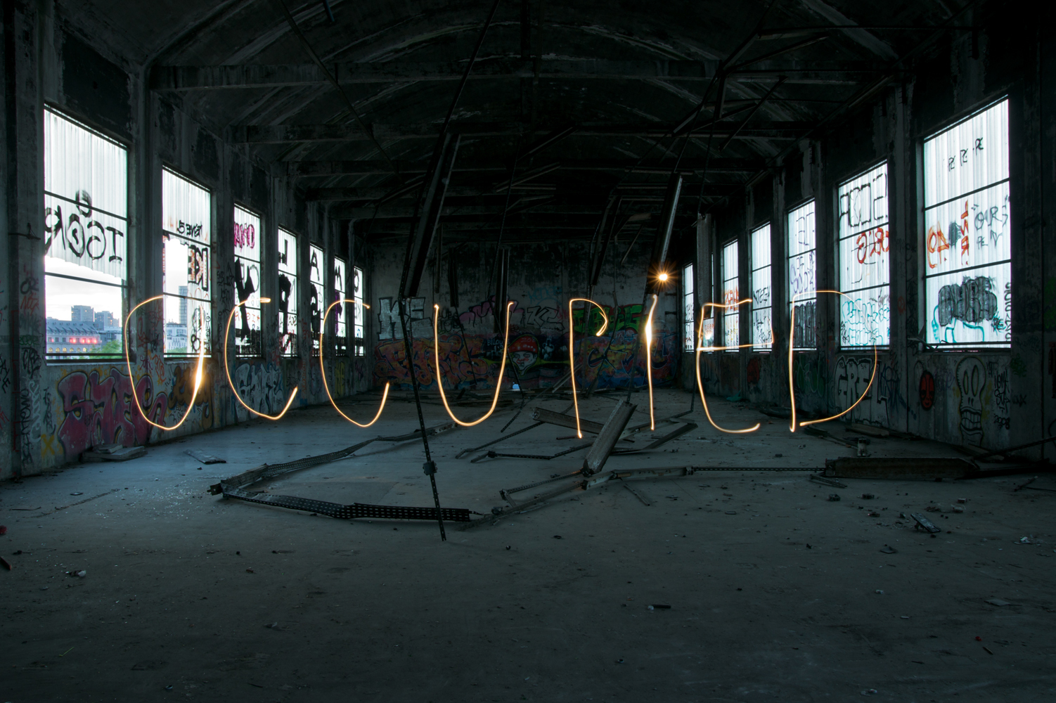 Light Painting – occupied