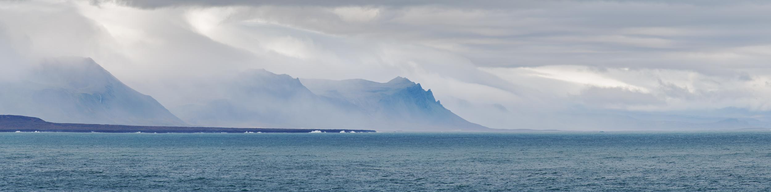 Vue des falaises depuis Arnarstapi