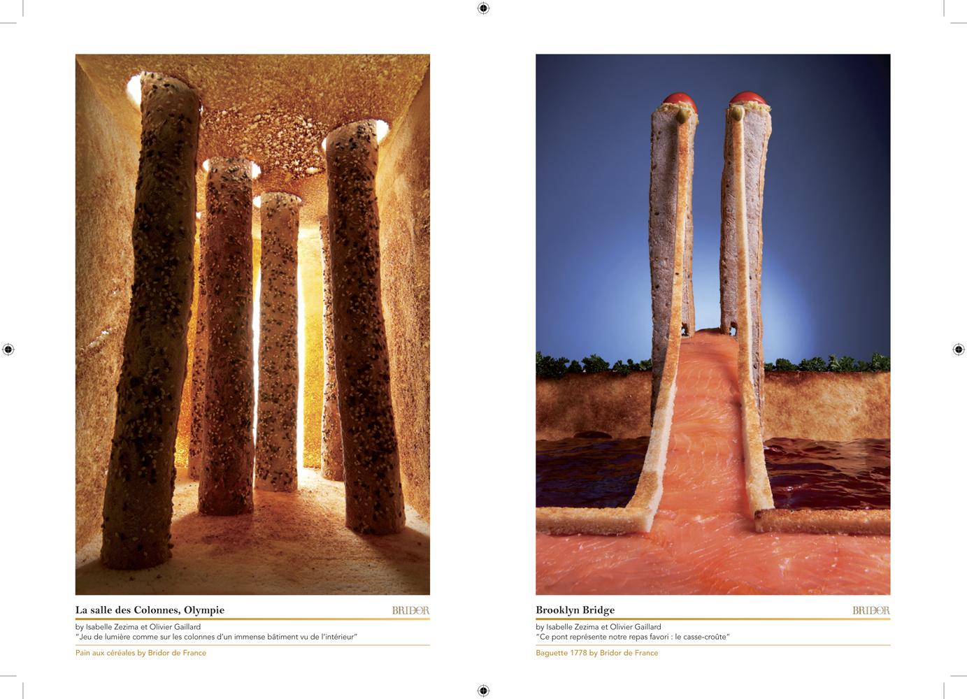 Livret en édition limitée réalisé par l'Agence Lucette pour accompagner l'exposition Bridor, en parallèle du festival de photographie culinaire 2012.
